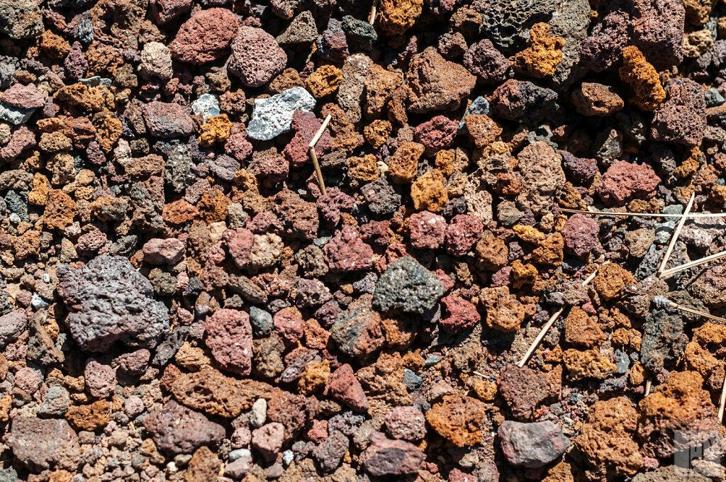 Lava butte rocks