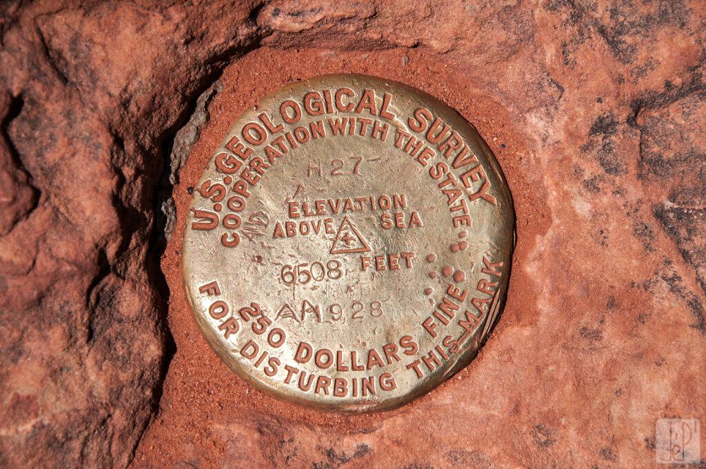 Elevation 6508 feet (1928)