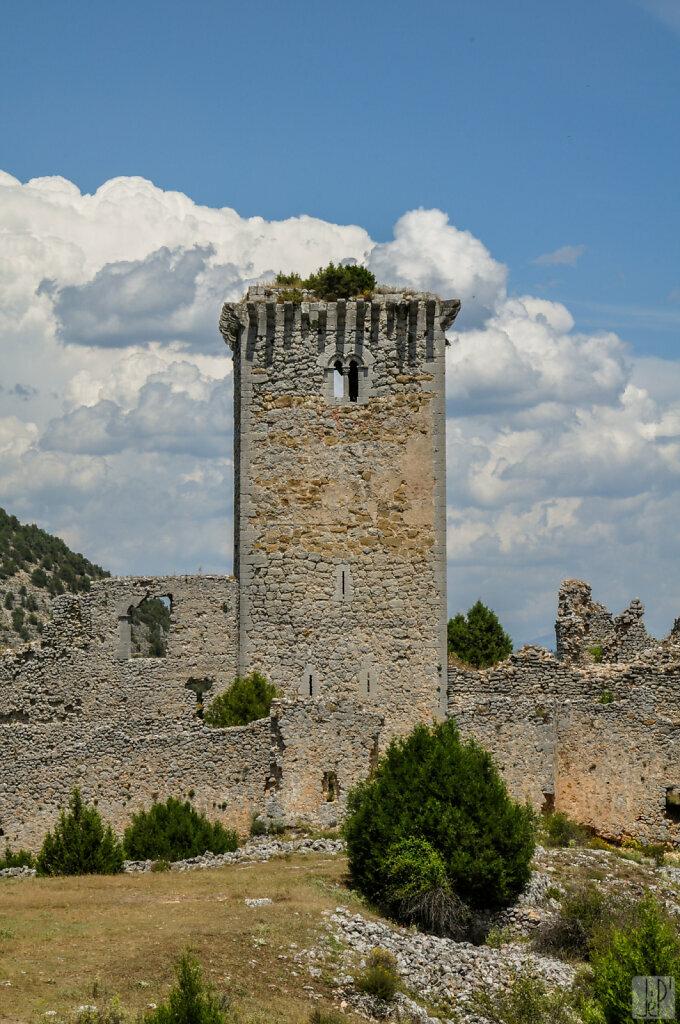 Tour du château d'Ucero